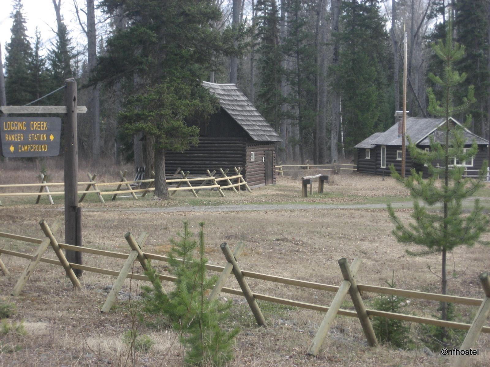 Logging Creek Ranger Station