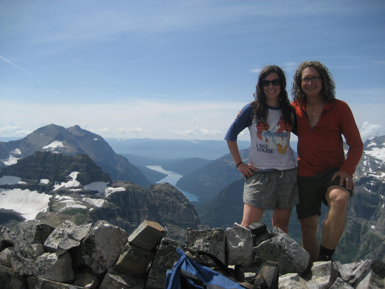 On top of Chapman Peak